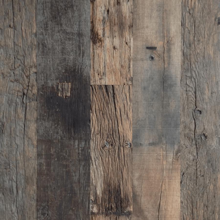 Reclaimed Bordeaux Plank mixed widths Lifetime Oak Venasque