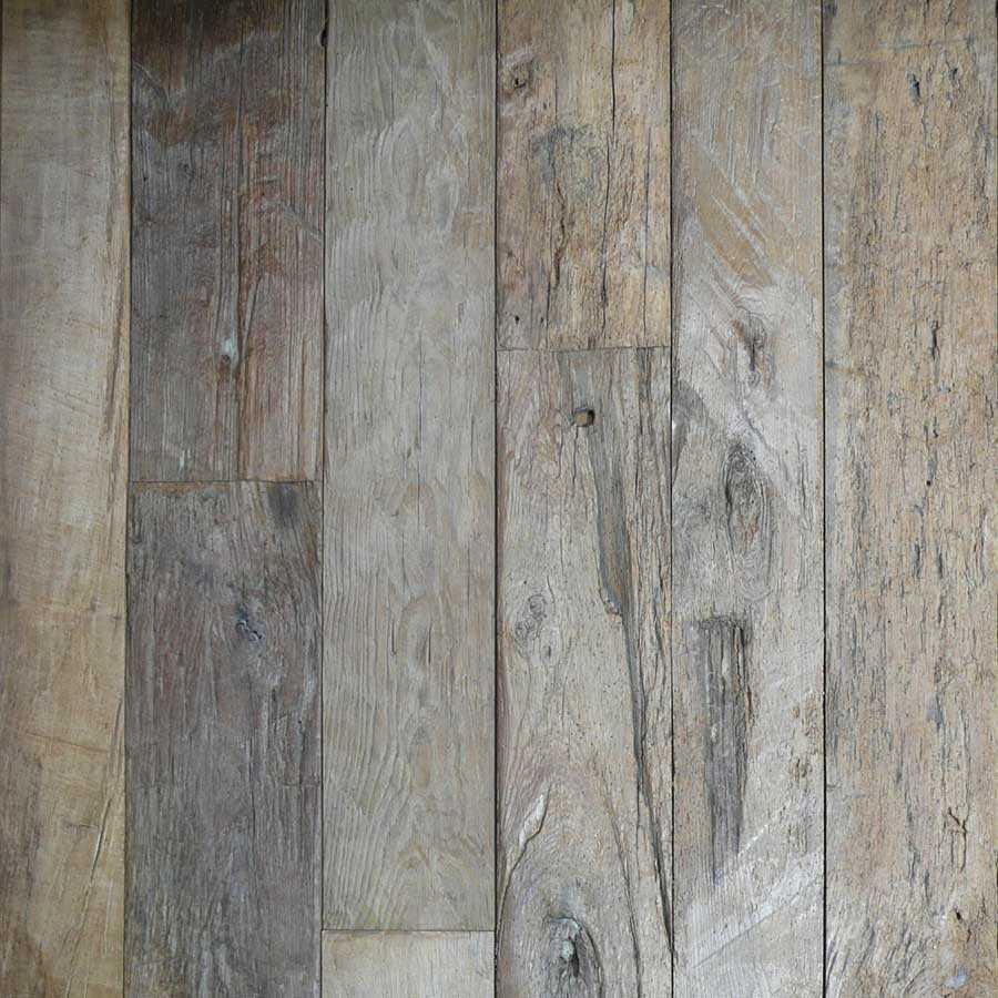 Reclaimed Cevennes Plank mixed widths Century D Elm Venasque