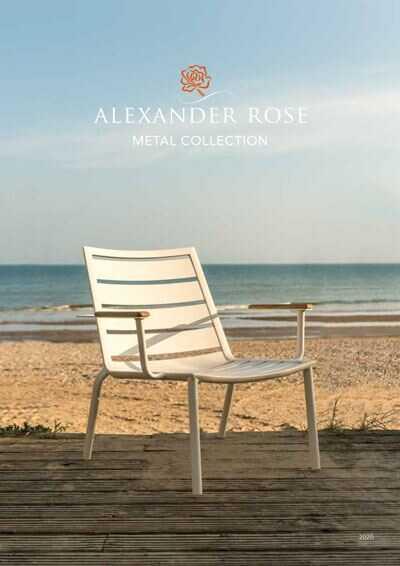 Alexander Rose metal brochure 2020