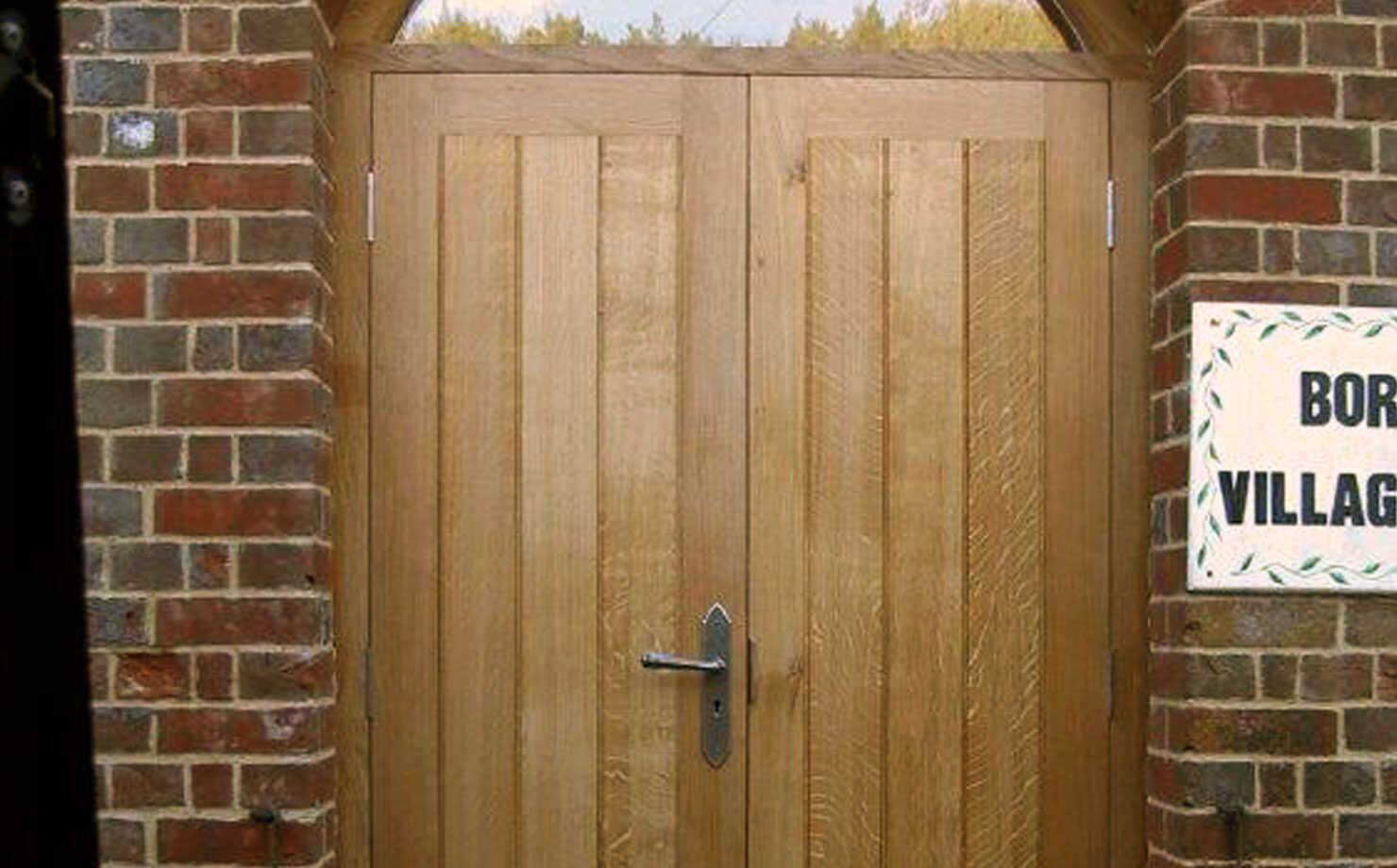 Hardwood Doors