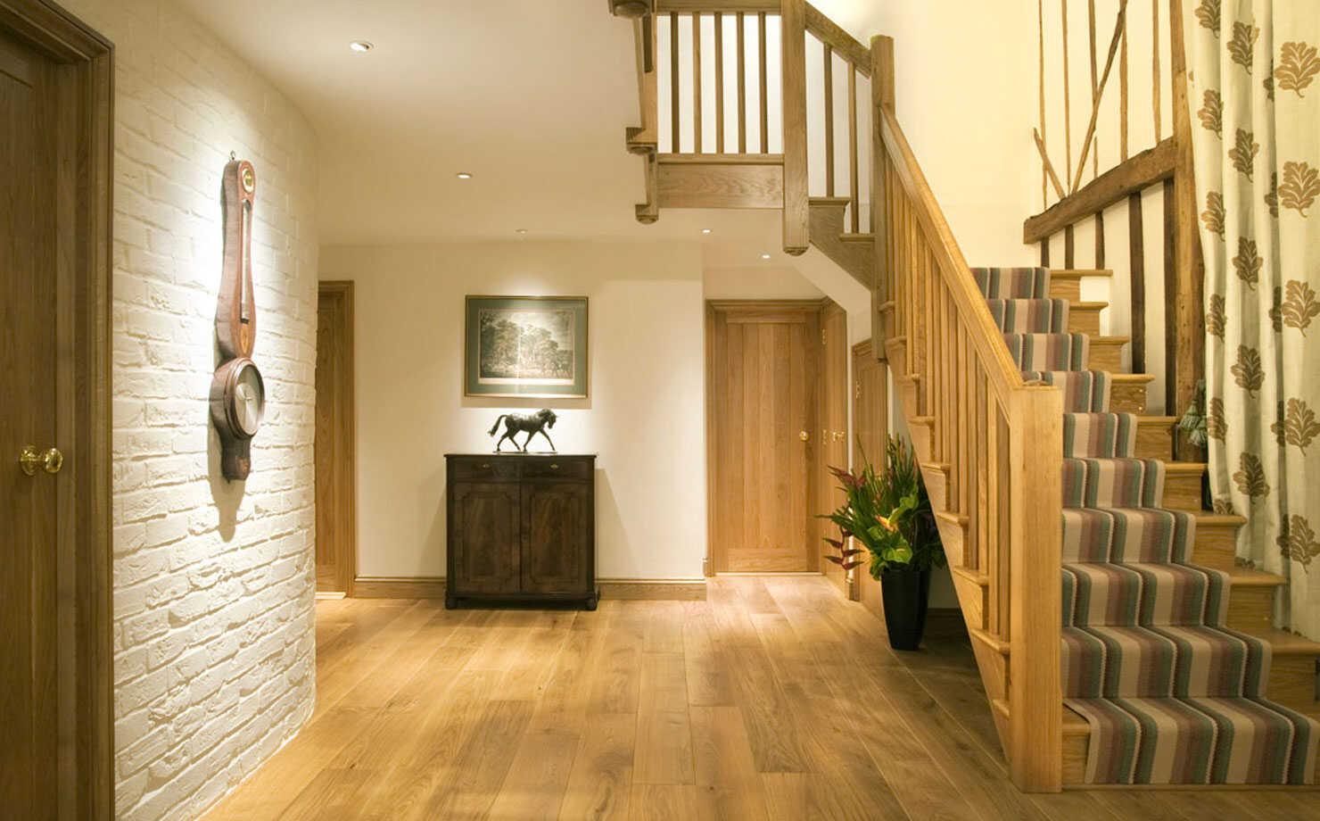 hardwood staircases